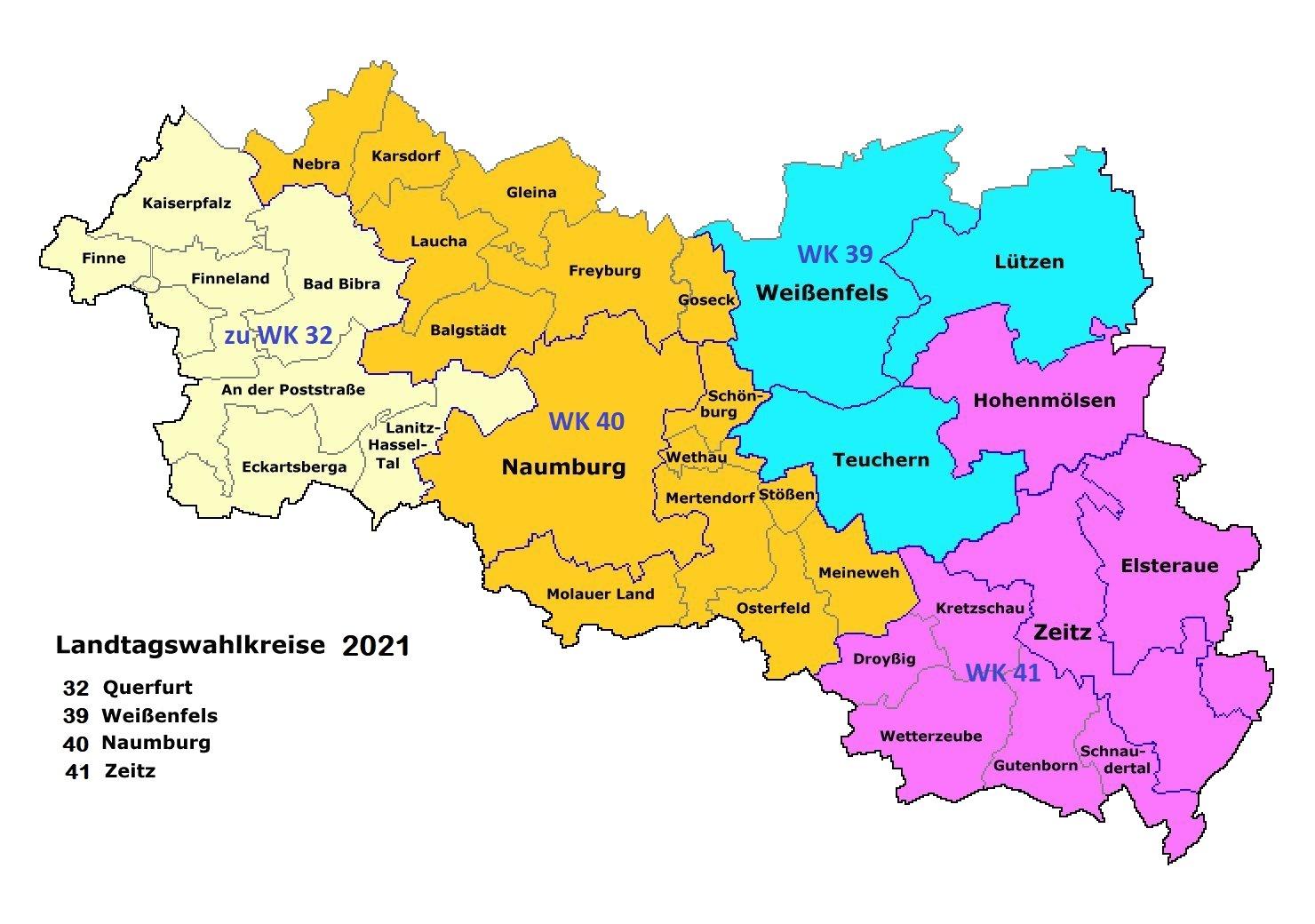 kreiskarte landtagswahl 2021 wahlkreise