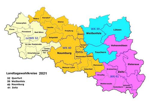 Landtagswahlkreise 2021