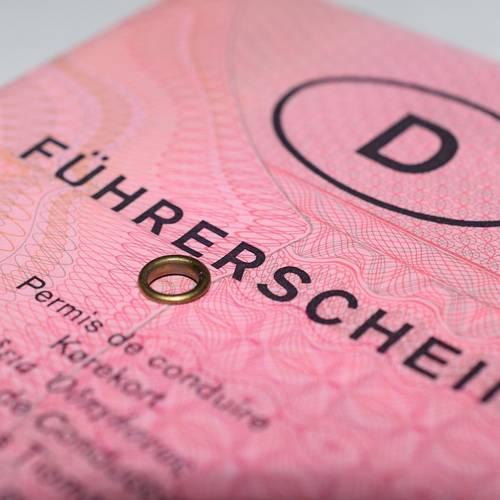 Menu: Führerscheinumtausch